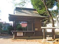 打越八幡社神楽殿