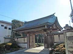 本立寺山門