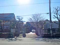 妙薬寺山門