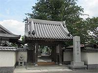 石田寺山門