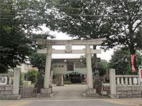 日野八坂神社鳥居