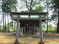 川辺堀之内日枝神社鳥居