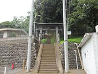 百草八幡神社鳥居