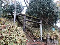 東光寺神明社鳥居