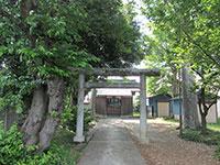 上田北野神社鳥居