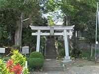 平山八幡神社鳥居