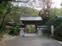 妙見寺山門