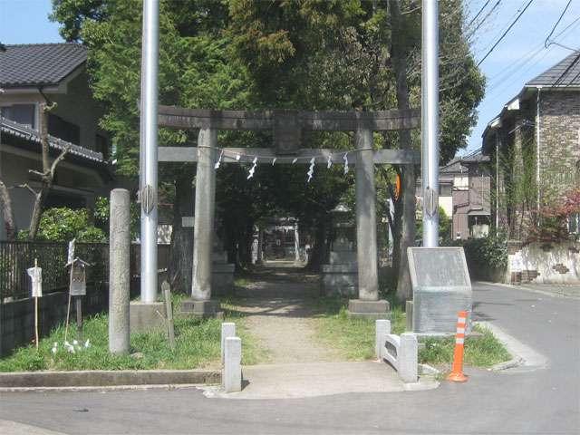稲城青渭神社|稲城市東長沼の神...