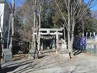 平尾杉山神社鳥居