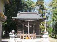 竪神社拝殿