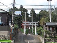 関戸熊野神社鳥居