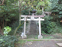 中和田天神社鳥居