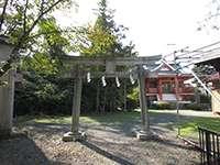 連光寺諏訪神社鳥居