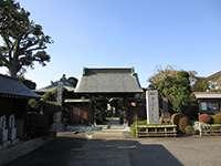高蔵院山門
