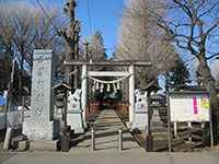 武蔵野神社鳥居