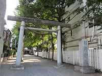 堀端野中稲荷神社鳥居