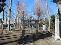 小川日枝神社鳥居