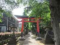 鈴木稲荷神社鳥居