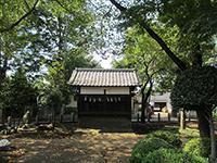 内藤神社太鼓堂