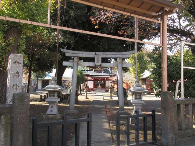 本町八幡神社鳥居