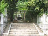 小金井神社参道