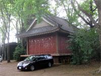 小金井神社神楽殿