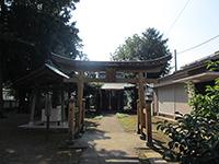 弁天八幡神社鳥居