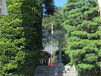 貫井神社鳥居