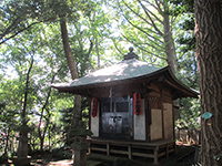 貫井神社不動尊