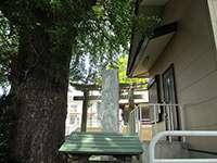 金森西田杉山神社鳥居