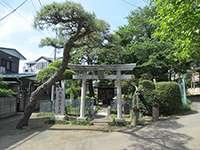澁池神社鳥居