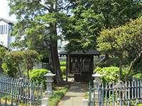 澁池神社社殿