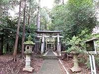 金井八幡神社鳥居