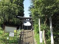 小山御嶽神社鳥居