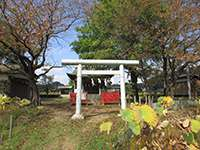 小山田神社鳥居