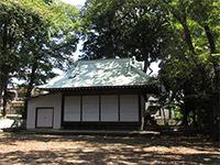 南大谷天神社神楽殿