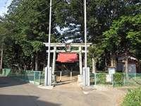 山崎八幡神社鳥居