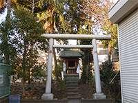 鶴間日枝神社大六天社
