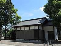 鶴間熊野神社神楽殿