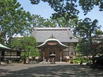 月窓寺本堂
