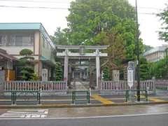 関前八幡神社鳥居