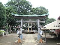 大沢八幡社鳥居