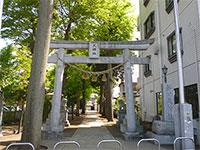 新川天神社鳥居