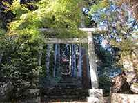 秋波神社鳥居