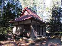 秋波神社社殿