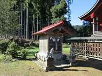 下山八幡神社稲荷社