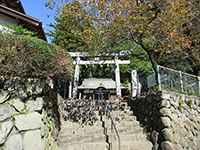 石神社鳥居