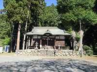 石神社社殿