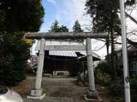 三柱神社鳥居