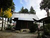 三柱神社社殿